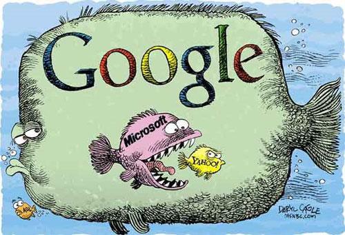 Google, microsoft y yahoo